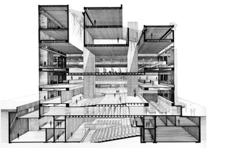 ale Art & Architecture Building - Paul Rudolph