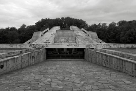 complejo memorial loma de la fraternidad, Plovdiv, 1974