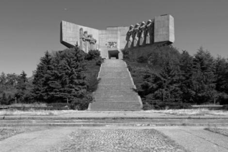 parque monumento a la amistad soviético Bulgaria, Varna, 1978